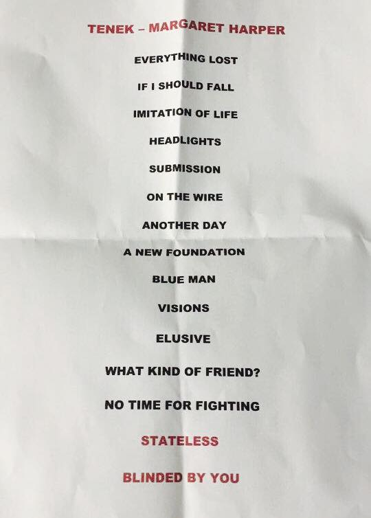 DC10 Set List